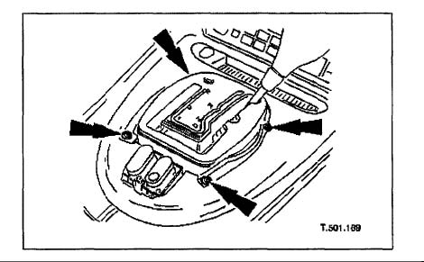 1997 2006 Jaguar Xk8 Climate Controller Removal Instructions