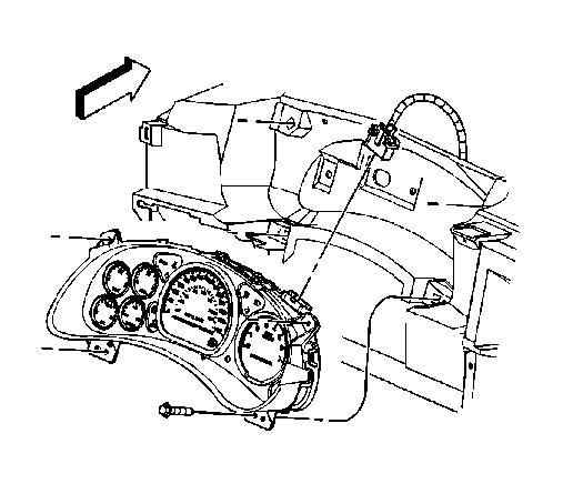 2000 2005 Monte Carlo Instrument Cluster Removal Instructions