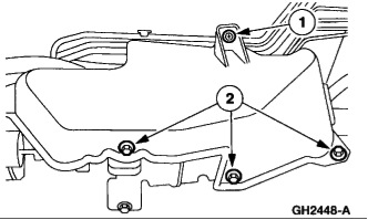 2001-2003 Ford Windstar ABS Removal Instructions on