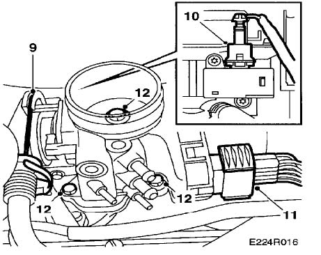Saab 9 3 9 5 Throttle Body Removal Instructions And Limp Home Reset